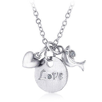 Jewelry| Love and Heart Necklace
