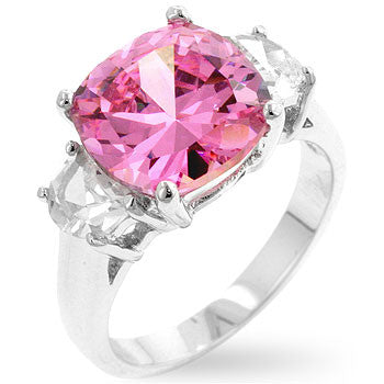 Jewelry| Pink Ice Triplet Ring