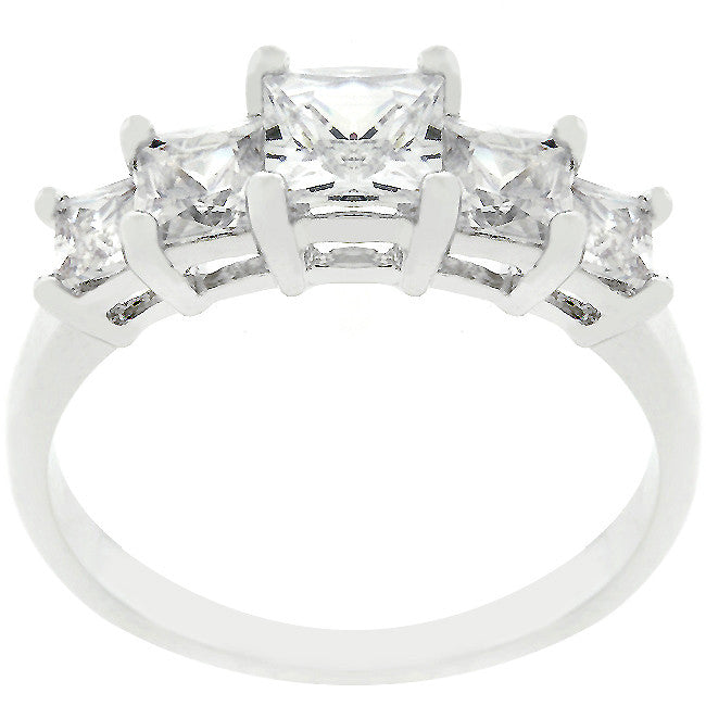 Jewelry| Five Stone CZ Anniversary Ring