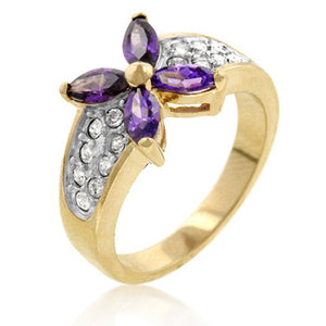 Jewelry | Tanzanite and Cubic Zirconia Ring