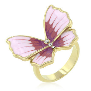 Jewelry| Butterfly 3-Stone Ring Size 7