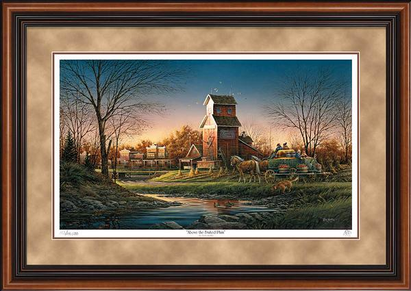 Art | Terry Redlin Store Above The Fruited Plain Framed Art Print