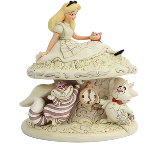 Disney Traditions by Jim Shore Woodland Alice Wonderland Figurine