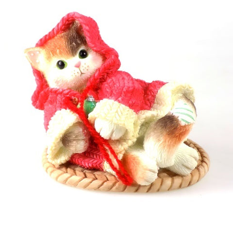 Collectibles | Calico Kittens All Wrapped Up In Warmth Figurine