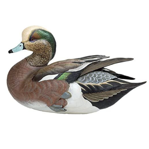 Duck Decoys | American Widgeon Duck Decoy by Sam Nottleman