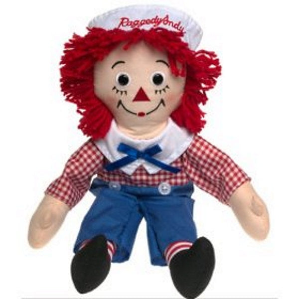 Dollsite | Raggedy Andy Doll 25 Inches