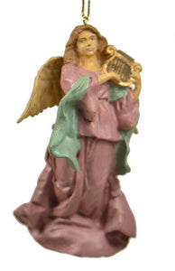 Holiday | Christmas Ornaments Angel with Lute Ornament