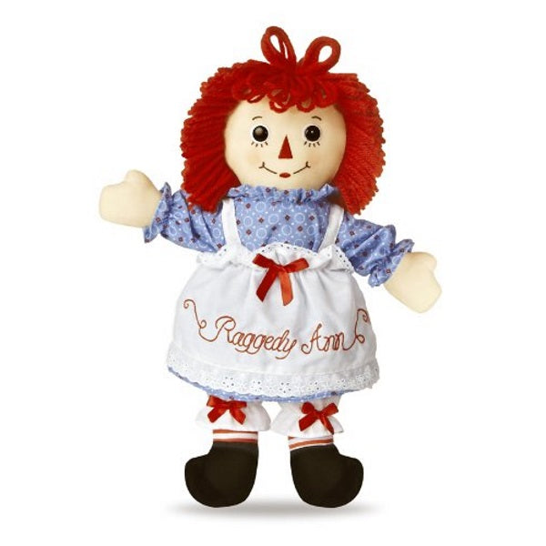 Dollsite | Raggedy Ann Doll 16 Inches