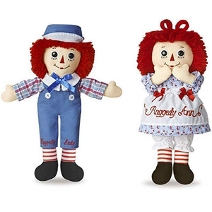 Dollsite | Raggedy Ann and Andy Dolls Set