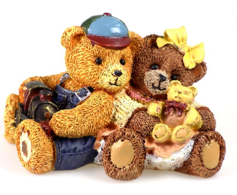 Whimsical Bears | Antique Teddies Bear Figurine
