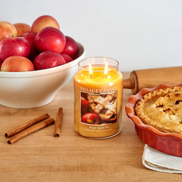 Yankee Candle Large Jar Candle, Warm Apple Pie