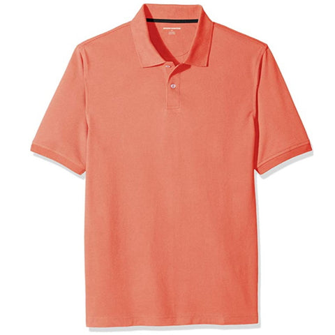 Golf Clothes | Men's Regular-fit Cotton Pique Polo Shirt