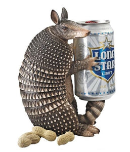 Figurines | Armadillo Figurine and Beverage Holder