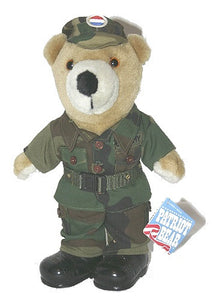Plush | Army Fatigue Teddy Bear