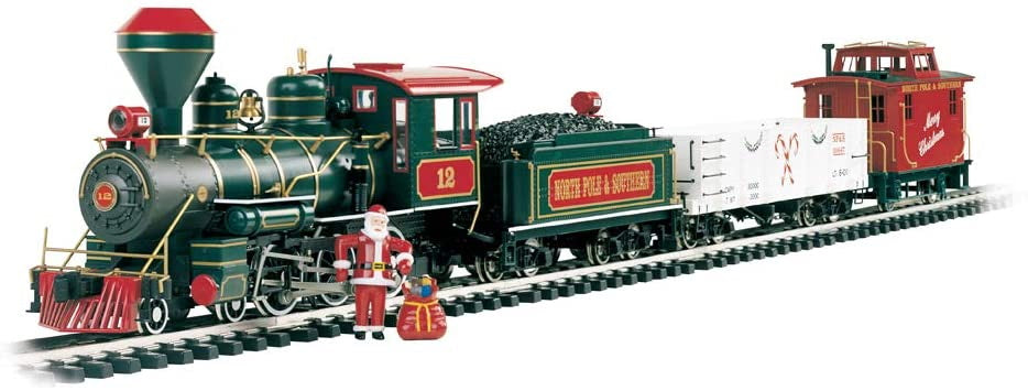 Bachmann Trains - Night Before Christmas Ready To Run Electric Train Set