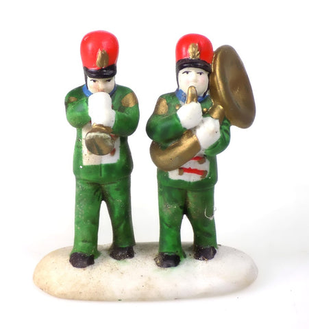 Christmas Village Accessories Band People