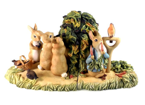 Home Decor | Beatrix Potter Bookends