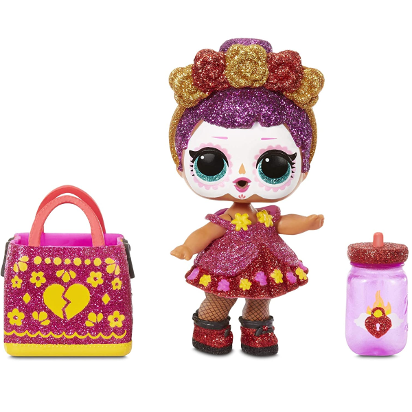 L.O.L. Surprise! Spooky Sparkle Limited Edition Bebé Bonita 7 Surprises Including Glow in The Dark Doll