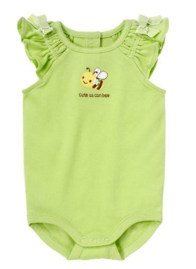 Baby Clothes | Gymboree Cute As A Bee Bodysuit for Baby Girl