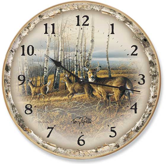 Terry Redlin Store Clocks | The Birchline Clock