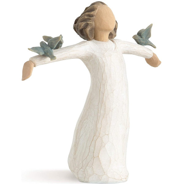 Figurines | Willow Tree Happiness, Sculpted Hand-Painted Figure