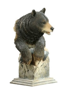 Mill Creek Black Bear Figurine Sculpture