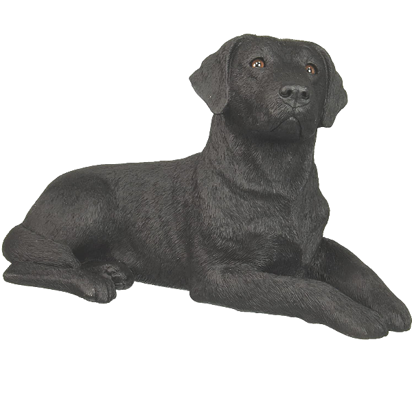 Shop today for a dog sculpture Black Labrador Dog Figurines and Sculpture Statues Sandicast Original  available at OneGreatShop.com