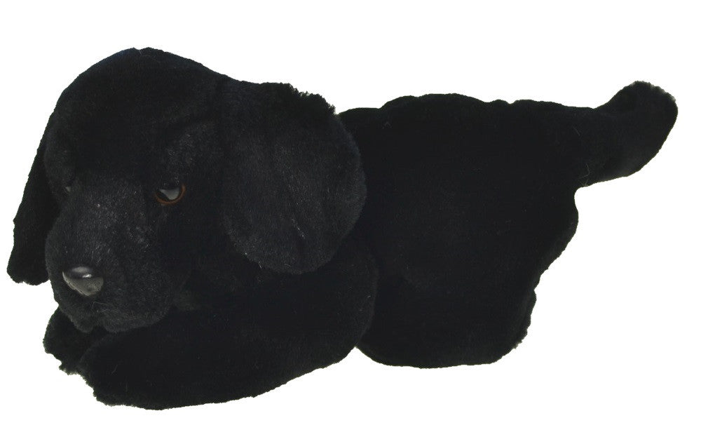 Plush | Black Labrador Retriever Dog Puppy Plush Animal