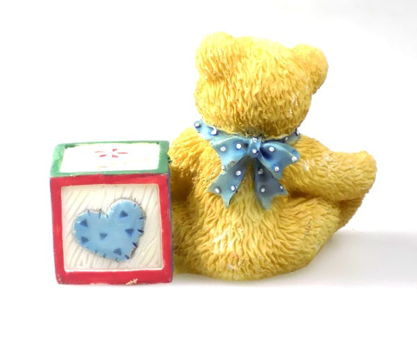 Collectibles | Cherished Teddies Block Figurine Letter B