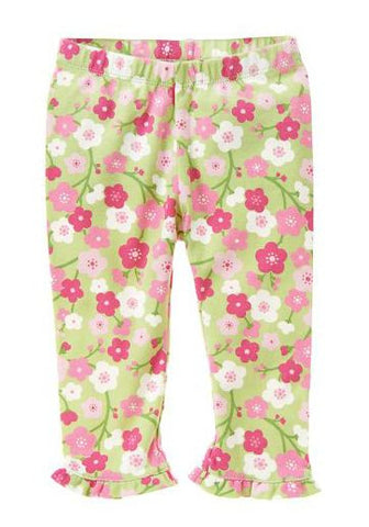 Baby Clothes | Gymboree Baby Girl Blossom Pant w/ Ruffle For Baby Girl 0-3 Months