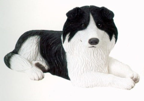 Figurines | Dog Sculpture Border Collie Dog Figurine Gifts and Collectibles