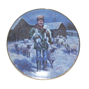 Collector Plates | Lowell Davis Born On A Starry Night