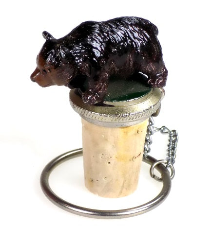 Collectibles | Brown Bear Bottle Stopper Home Decor
