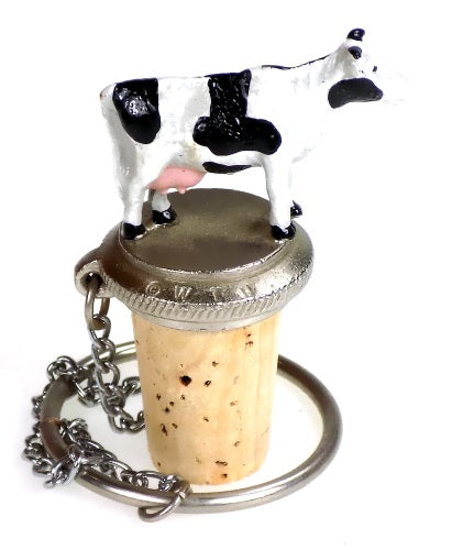 Collectibles | Cow Cork Bottle Stopper Home Decor