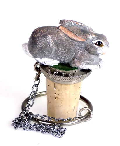 Collectibles | Bunny Rabbit Cork Bottle Stopper Home Decor