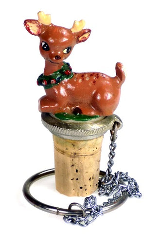 Collectibles | Reindeer Cork Bottle Stopper Home Decor
