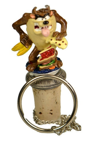 Collectibles | Tazmanian Devil Cork Bottle Stopper Home Decor Looney Tunes