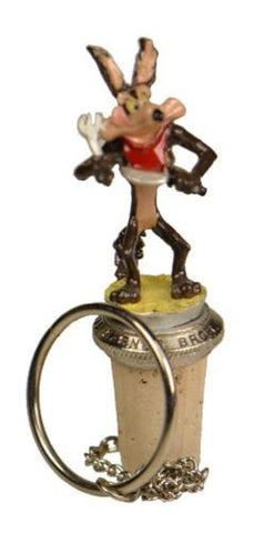 Collectibles | Wile E Coyote Cork Bottle Stopper Home Decor Looney Tunes