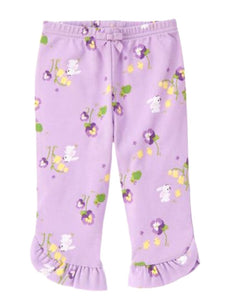 Baby Clothes | Gymboree Bunny Print Pants Girl 0-3 Months