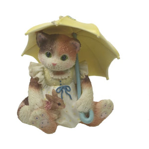 Collectibles | Calico Kittens April Showers Figurine