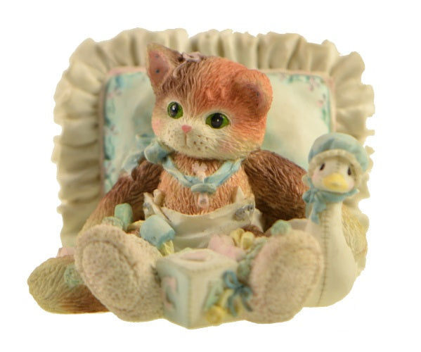 Collectibles | Calico Kittens Hello Little One Figurine
