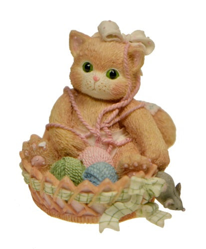 Collectibles | Calico Kittens A Little Litter of Blessings Figurine