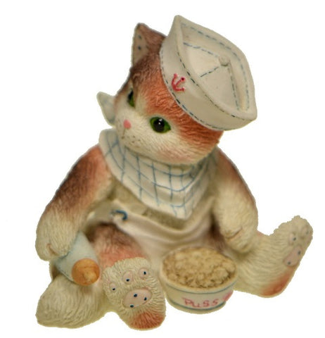 Collectibles | Calico Kittens New Kid On The Block Figurine