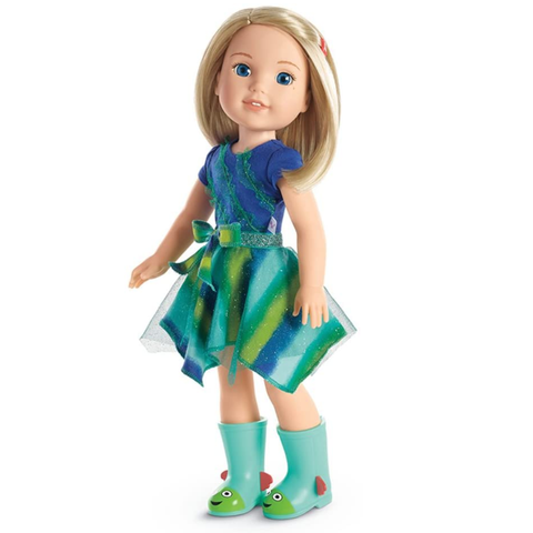 American Girl Dolls |  American Girl WellieWishers Camille Doll