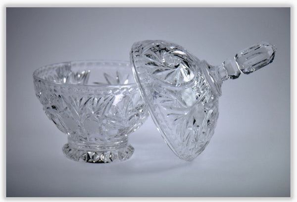 Home Decor | Clear Crystal Candy Dish