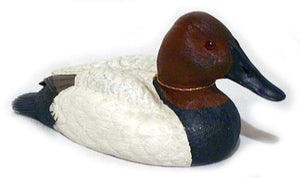 Duck Decoys | Canvasback Duck Decoy by Jennings Decoy Co.