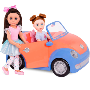 Glitter Girls by Battat | Convertible Car for 14 Inch Dolls