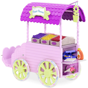 Glitter Girls by Battat Flower Carriage for 14-inch Dolls Toys