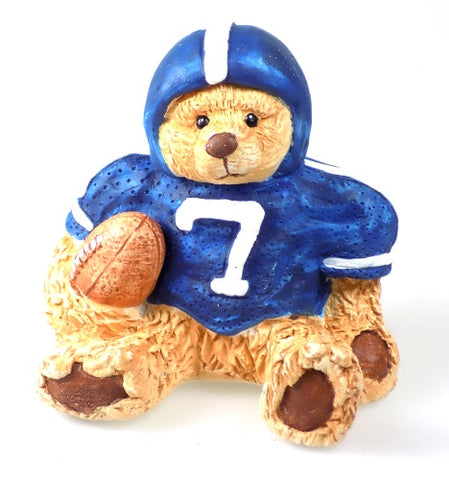 Whimsical Bears | Cast Art Football Bear Figurine