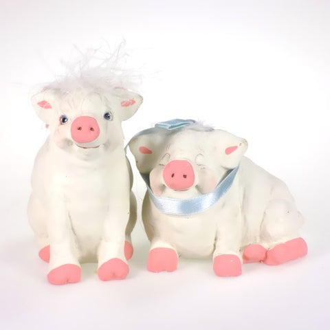 Figurine | Cast Art Pigs